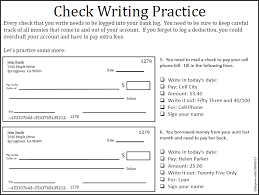 Empowered By THEM: Writing Checks