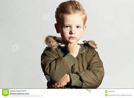 Kid Hair Style fashionable child in winter coat fashion kidchildrenkhaki parka 6485 by wearticles.com