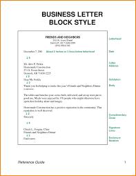 Business Letter Block Style Smart Format Example Scholarschair