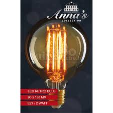 Retro Led Lamp E27 2w