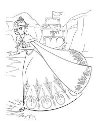 Small Picture Frozen Coloring Pages for Kids Free Printable Frozen Coloring
