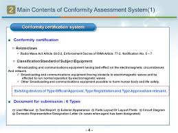Broadcasting And Communications Equipment Conformity Assessment
