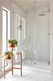 Fixer Upper Shower Designs Episode 6 Season 5 Modern White Bathroom Bathroom Tile