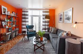 burnt orange and brown living room. Fall Into Orange Living Room Accents For All Styles With Ideas Idea 24 Burnt And Brown
