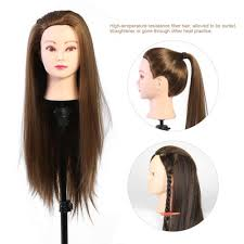 dels of makeup mannequin head hairdresser head cosmetology doll head blond brown intl