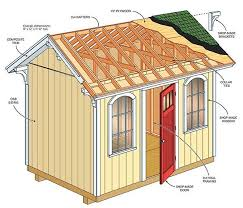 Small Picture free garden storage shed plans free garden shed blueprints shed