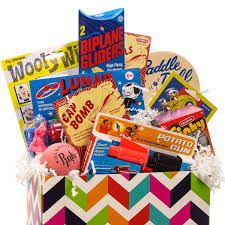 Gift Basket Box Sets| Retro Themed Gift Baskets| Gift Giving Ideas ...