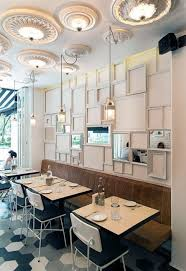 Captivating Modern Wall Decorating Ideas Showing Off Artistic Side Of Small Restaurant  In Mexico   1.1 Wall Coverings   Restaurant, Restaurant Design, Cafe Design