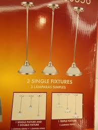 trio multi use mini pendant lights brushed nickel alabaster portfolio 233556