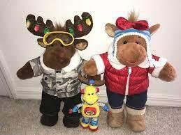 Dolls & Teddy Bears Build-A-Bear Teddy Bears Details about Build a Bear  Workshop Hal Stuffed Plush Moose New Teddy Bears