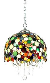 stained glass hanging lamp stained glass hanging lamp pendant shades light fixtures dining room vintage shade
