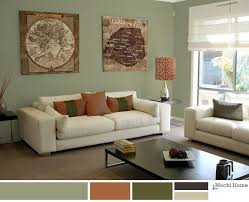 sage green living room