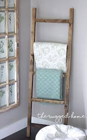 make a rustic ladder for 7 dollars home decor how to pallet