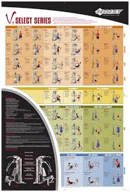 Hoist Leg Press Weight Chart Exercise Chart Hoist Fitness