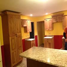 Kitchen Two Tone Kitchen Cabinets For Striking Kitchen Decoration