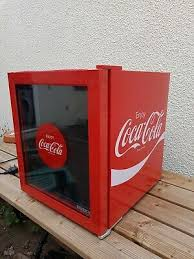 husky coca cola glass door mini fridge
