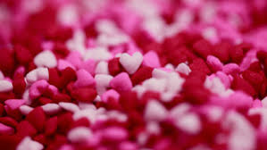 1014 1014 views valentines day in colorful heart sprinkles 5k wallpaper