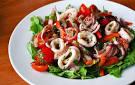Рецепты салатов из кальмаров без майонеза