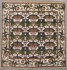 square area rugs 9 9 fresh 106 9 9 square signed william morris art craft rug