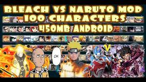 Bleach VS Naruto 3.3 Modded 100 Characters New UPDATE 2020 {450MB DOWNLOAD}  | Anime fight, Naruto games, Naruto
