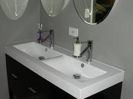 undermount bathroom double sink. Undermount Bathroom Double Sink Fresh On Innovative Long With Two Faucets Drainboard Craigslist Trough Kohler Vessel Sinks I