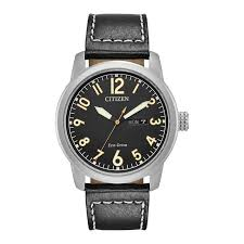 men s citizen eco drive chandler strap watch with black dial model bm8471 01e