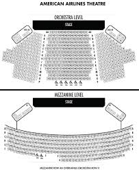 American Airlines Theatre Seating Chart Theatre In New York