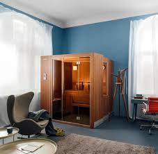 Sauna Die Neuen Modelle Passen Jetzt Auch Ins Wohnzimmer Welt
