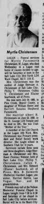Obituary for Myrtle Farnsworth Christensen (Aged 87) - Newspapers.com