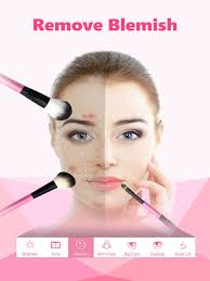 ineauty makeup camera on the app