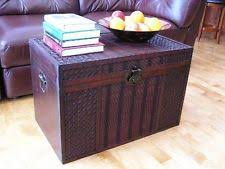 room vintage chest coffee table:  room oak flat coffee table trunk coffee table wicker storage hope blanket chest cedar wood vintage steamer storage