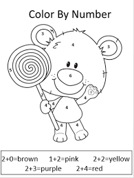 Small Picture Printable First Grade Math Coloring Worksheets Coolest Coloring