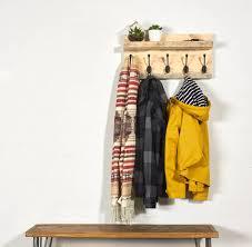 Coat Rack Board muska reclaimed scaffold board coat rack and shelf by sunnyside 41