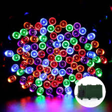 halloween outdoor lighting. Battery Operated Fairy String Lights 200 LED Multi-Color With Timer Halloween Outdoor Lighting
