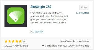 Site Origin CSS