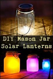 these diy mason jar solar lanterns give f wire free outdoor solar jars