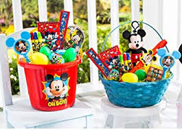 disney s mickey mouse filled easter basket