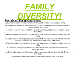 as sociology family family diversity presentation revision  preview of page 1 family diversity