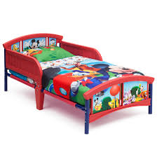 disney mickey mouse plastic toddler bed