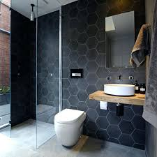 black hexagon tile bathroom black hex tiles black hexagon tile bathroom floor