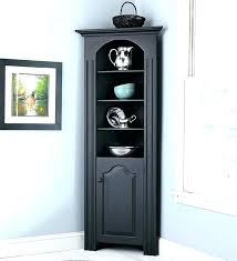 corner shelf cabinet with door tall cabinets for living room captivating unit plywood c corner shelf