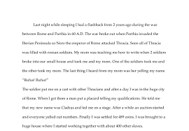 my life as a r slave gcse english marked by teachers com document image preview