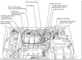 2003 nissan altima 25 engine parts diagram charming schematics
