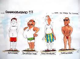 Sonnenbrand Von Erix Medien Kultur Cartoon Toonpool