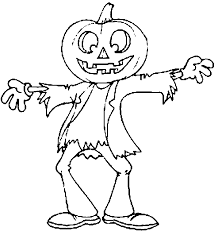 Small Picture Halloween Templates Kids Coloring Page Free Download