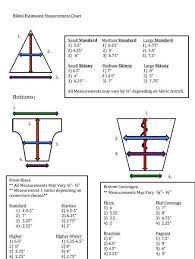 Bikini Sizing Chart Faq Ravish Sands Crochet Bikini