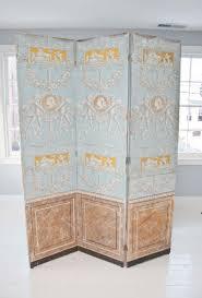 impressive screen room divider panel for home interior design and decoration delectable greek light blue
