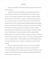 Format For Business Plan Proposal New Restaurant Business Proposal