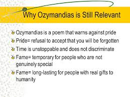 ozymandias a study written by percy bysshe shelley essay by  5 why ozymandias