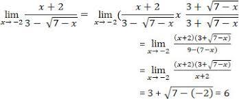 Pembahasan soal limit aljabar dengan bentuk selisih akar gunakan ketentuan berikut pembahasan limit selisih akar dengan a > c, sehingga hasilnya = model berikutnya Penjelasan Limit Fungsi Aljabar Dan Trigonometri Pinterkelas